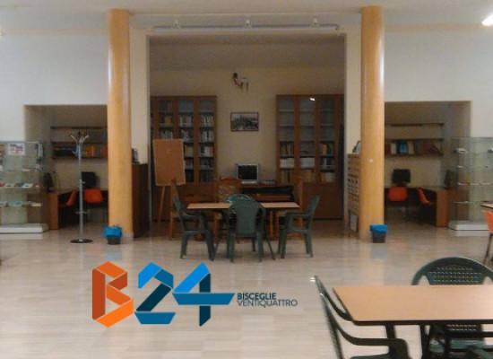"""Biblioteca """"don Michele Cafagna"""", bilancio positivo per il centro culturale nel cuore della Cittadella"""
