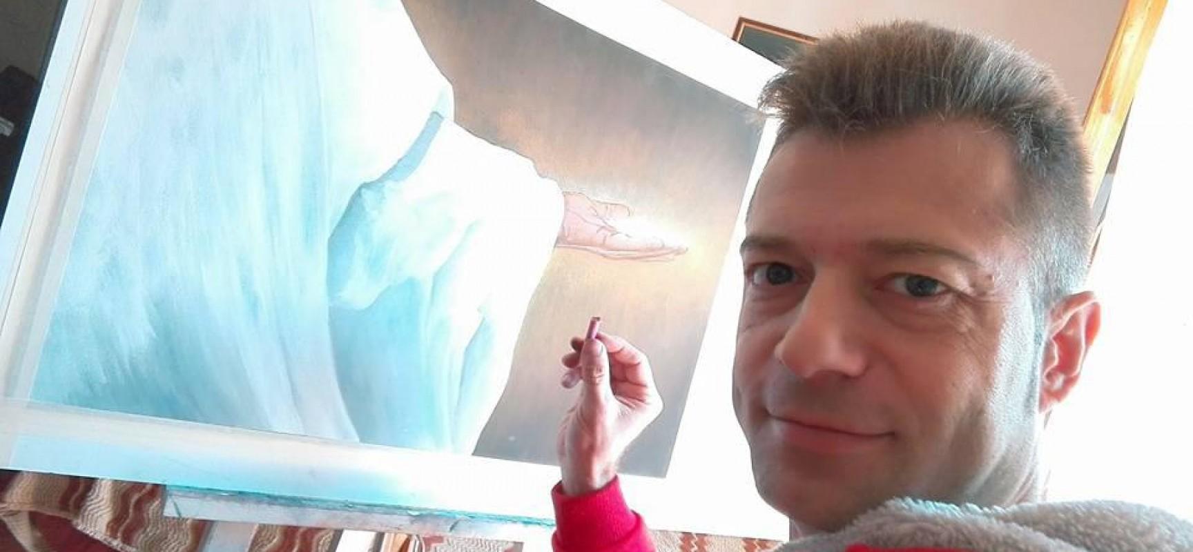 """""""Davvero quest'uomo era figlio di Dio"""": mostra di pittura del biscegliese Savino di Savino"""