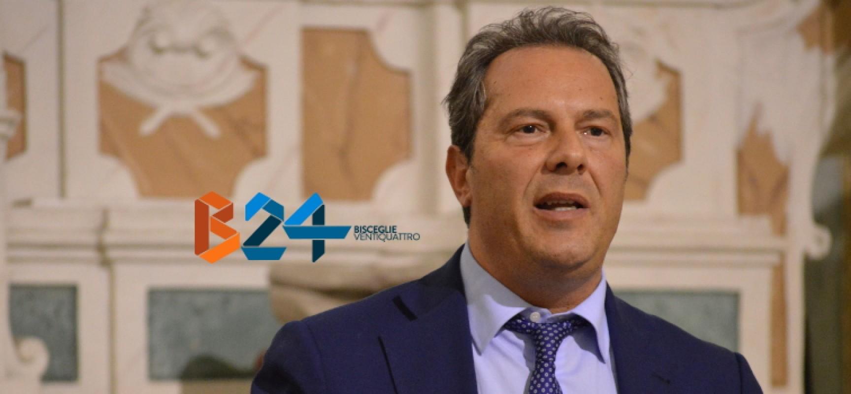 Elezioni provinciali, manca l'accordo: Spina dice no a consiglio con sindaci della Bat