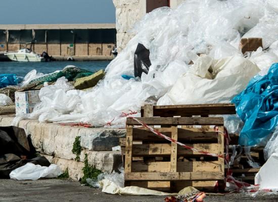 Molo di levante, ultimati i lavori di riqualificazione ma l'area rimane invasa dalla spazzatura