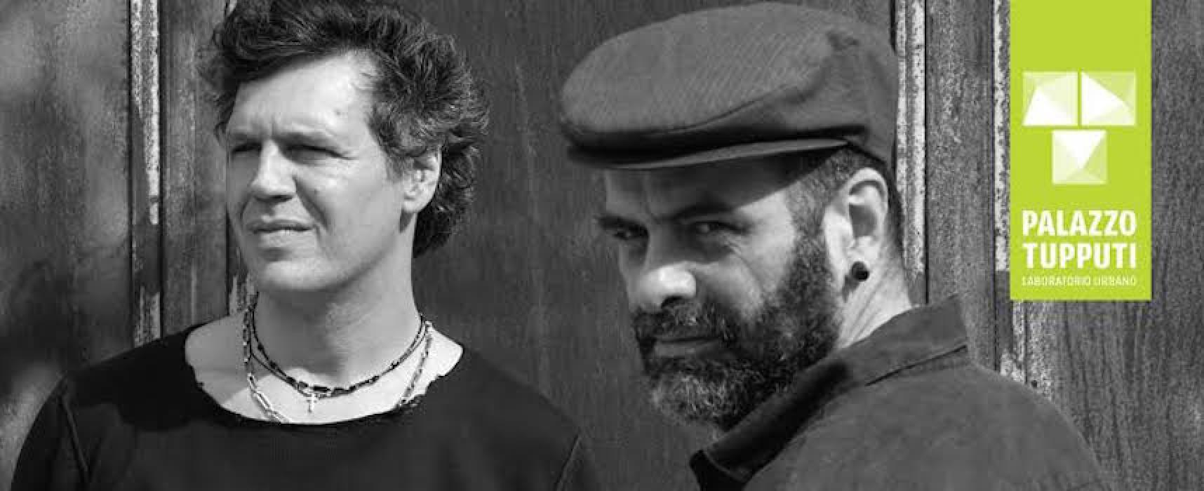 Mirko Signorile e Marco Messina protagonisti di Sonimage a Palazzo Tupputi