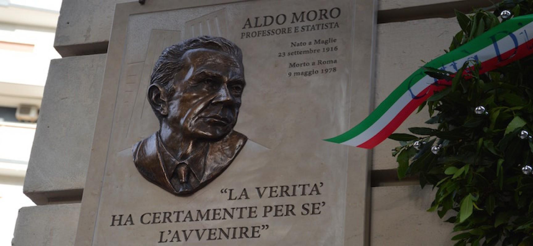 """Centro Studi e Italia Viva Bisceglie ricordano Aldo Moro: """"Suo pensiero politico sempre attuale"""""""