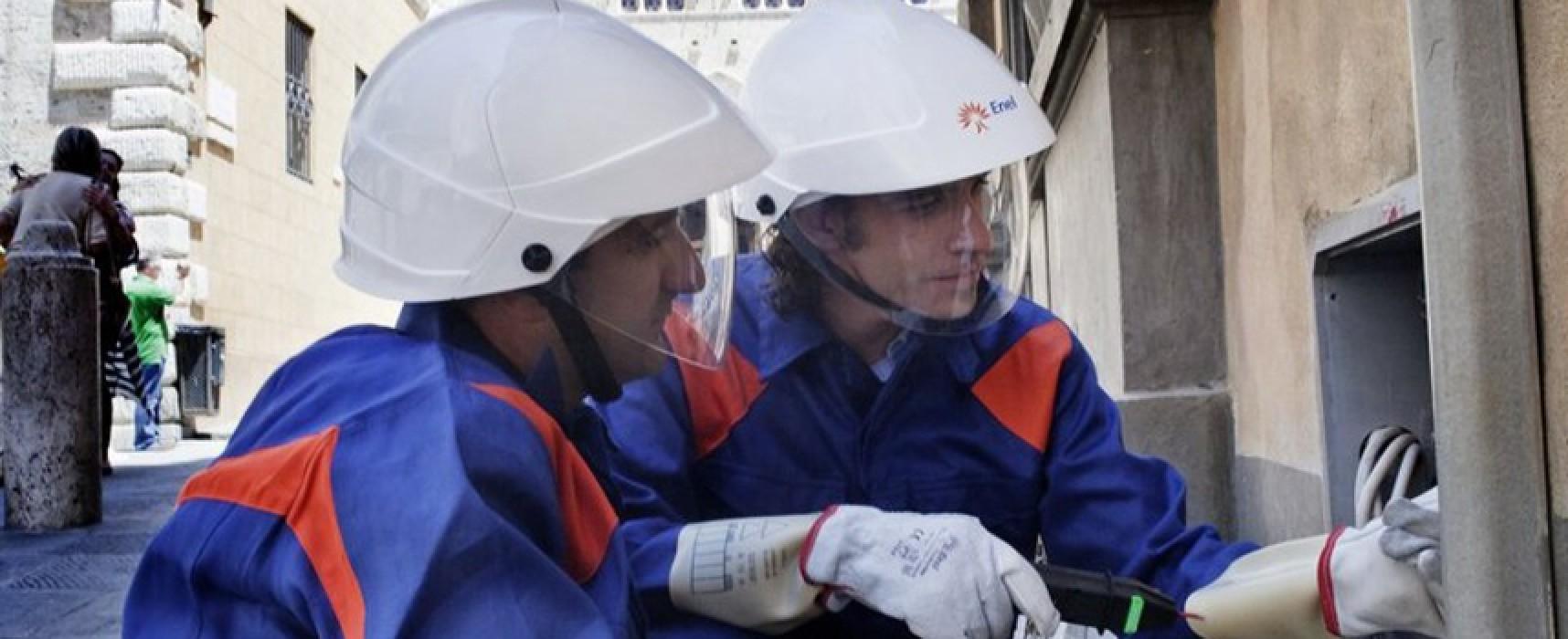 E-Distribuzione, programmata interruzione servizio energia elettrica per lavori