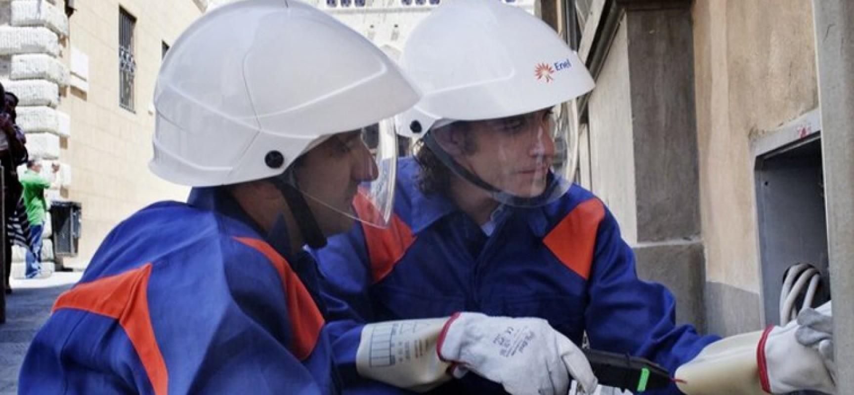 Lavori impianti Enel, interruzione energia elettrica su via Fragata e via Sergio Cosmai / DETTAGLI
