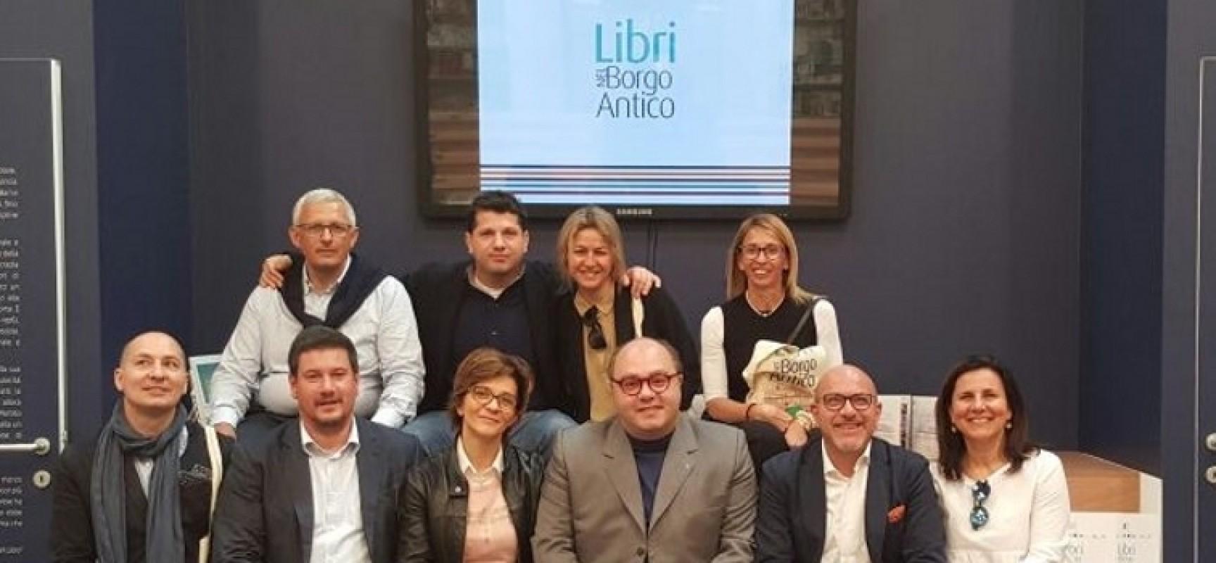 Libri nel Borgo Antico, presentata la settima edizione al Salone del Libro di Torino