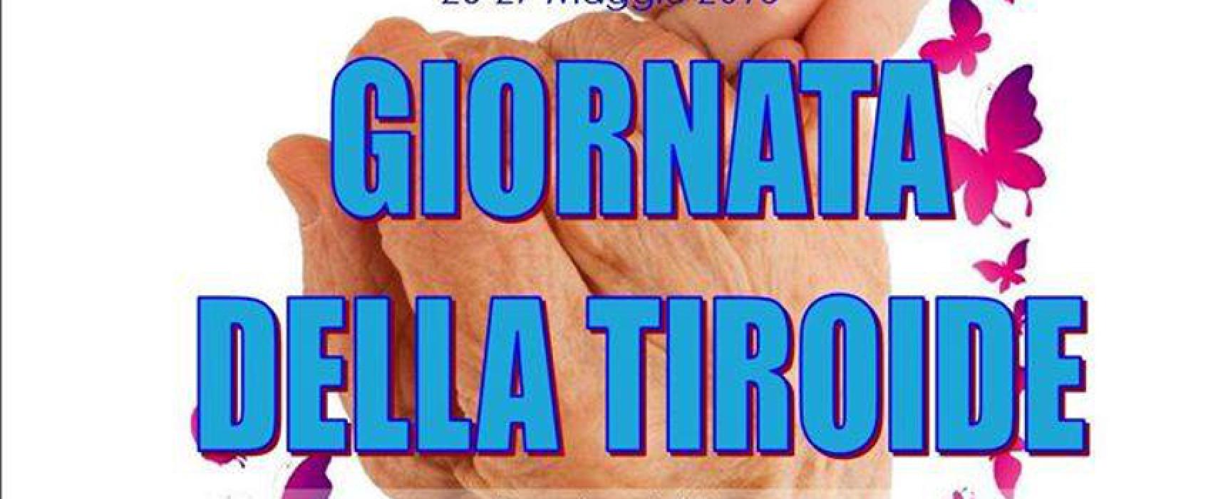Giornata mondiale della tiroide: visite ed ecografie gratuite domenica 22 maggio