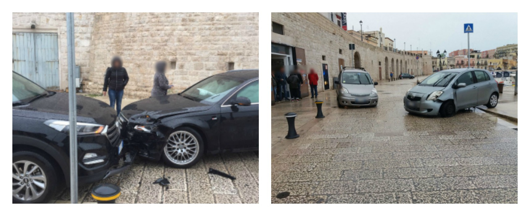 Due incidenti in meno di due ore su via Nazario Sauro, nessun ferito solo disagi al traffico
