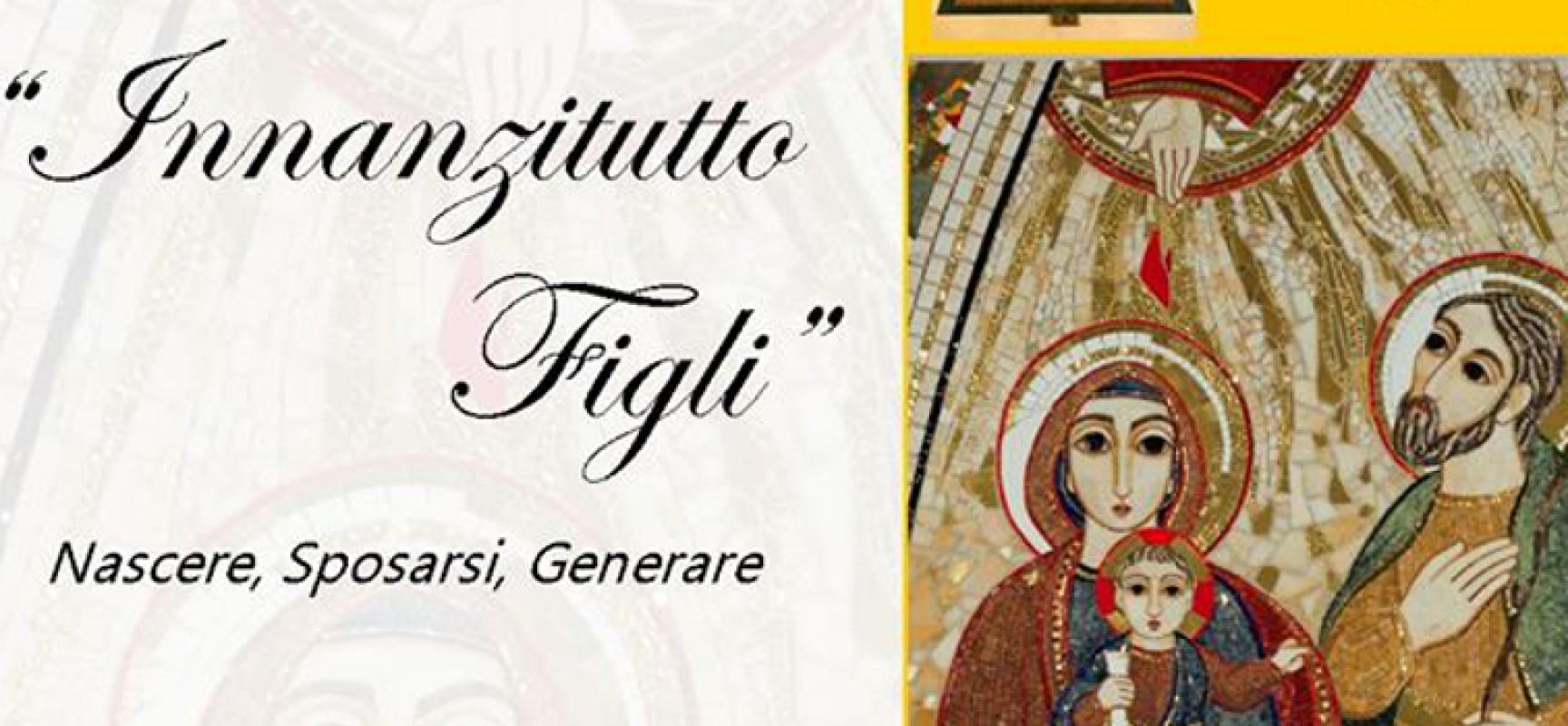 """""""Innanzitutto figli. Nascere, Sposarsi, Generare"""", don Giulio Meiattini presenta a Bisceglie il suo libro"""