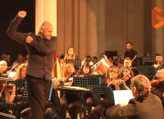 Musica e solidarietà con l'Orchestra sinfonica di Bari per il recupero della chiesa di Sant'Agostino / VIDEO