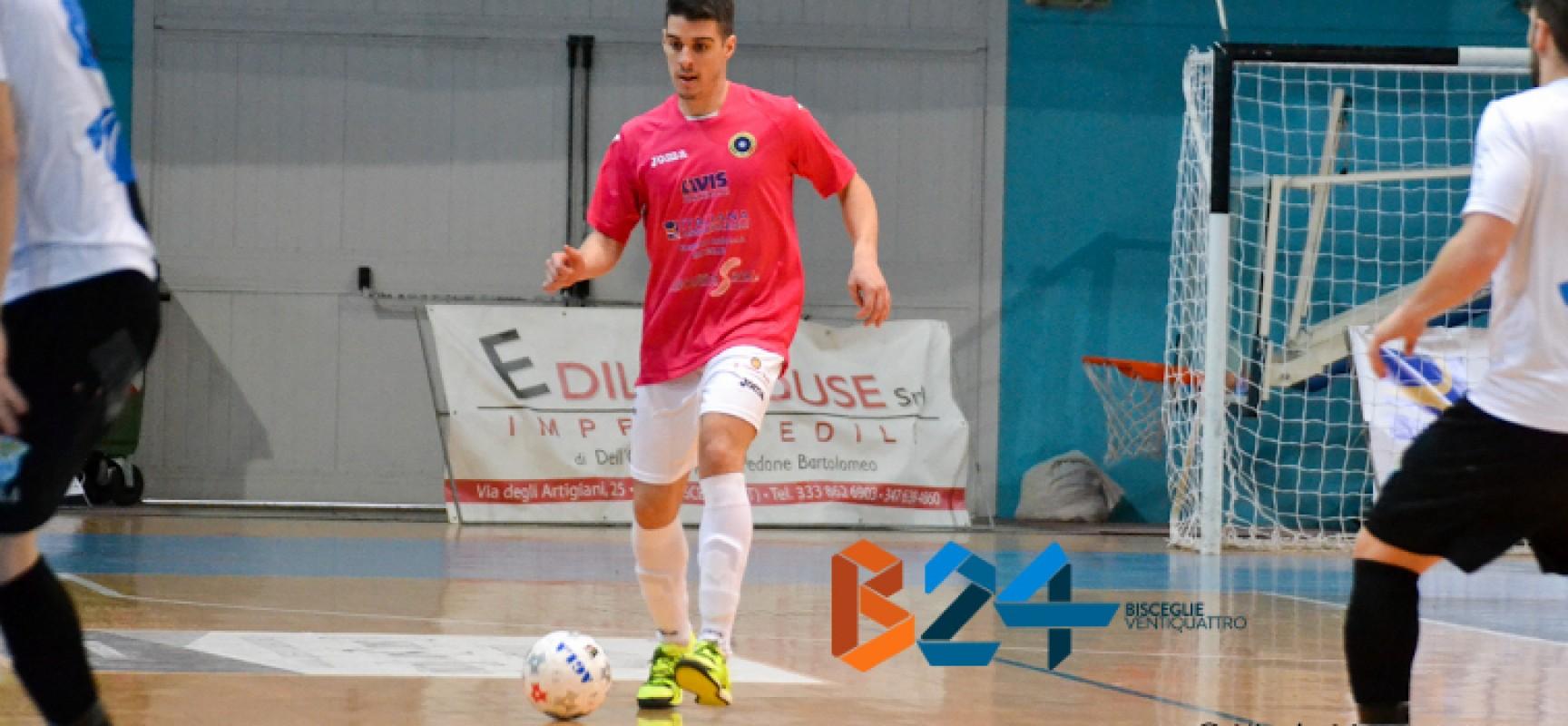 Altro rinnovo per il Futsal Bisceglie, confermato Ortiz