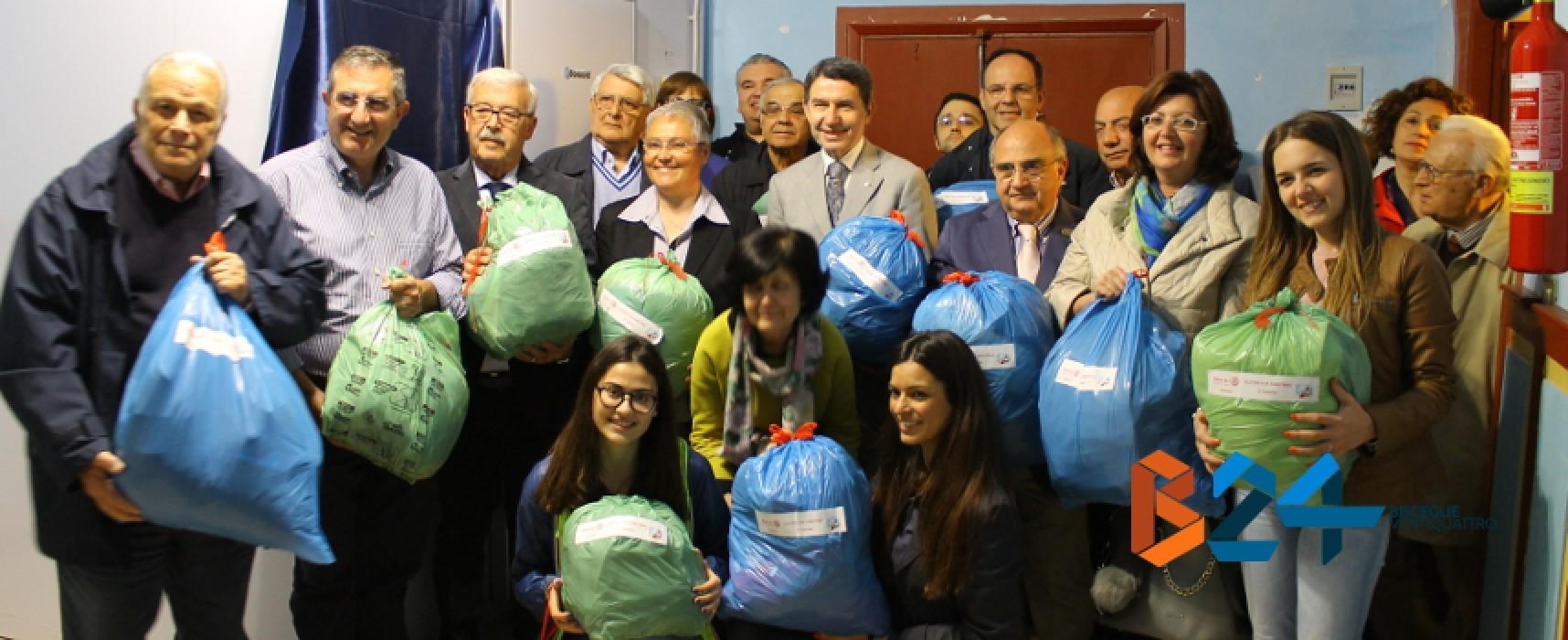 Rotary Club, consegnata la nuova cella frigorifera alla Caritas biscegliese / FOTO