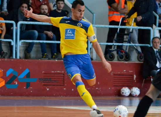Sanchez rinnova il rapporto con il Futsal Bisceglie