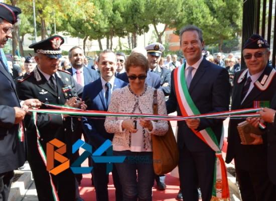 Inaugurata nuova sede Associazione Carabinieri Bisceglie, Spina: «Attiviamo presidio di legalità» / FOTO