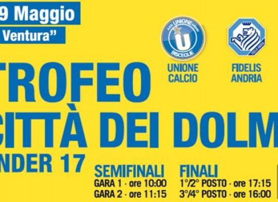 """Calcio giovanile, domenica a Bisceglie prima edizione del """"Trofeo Città dei Dolmen"""""""