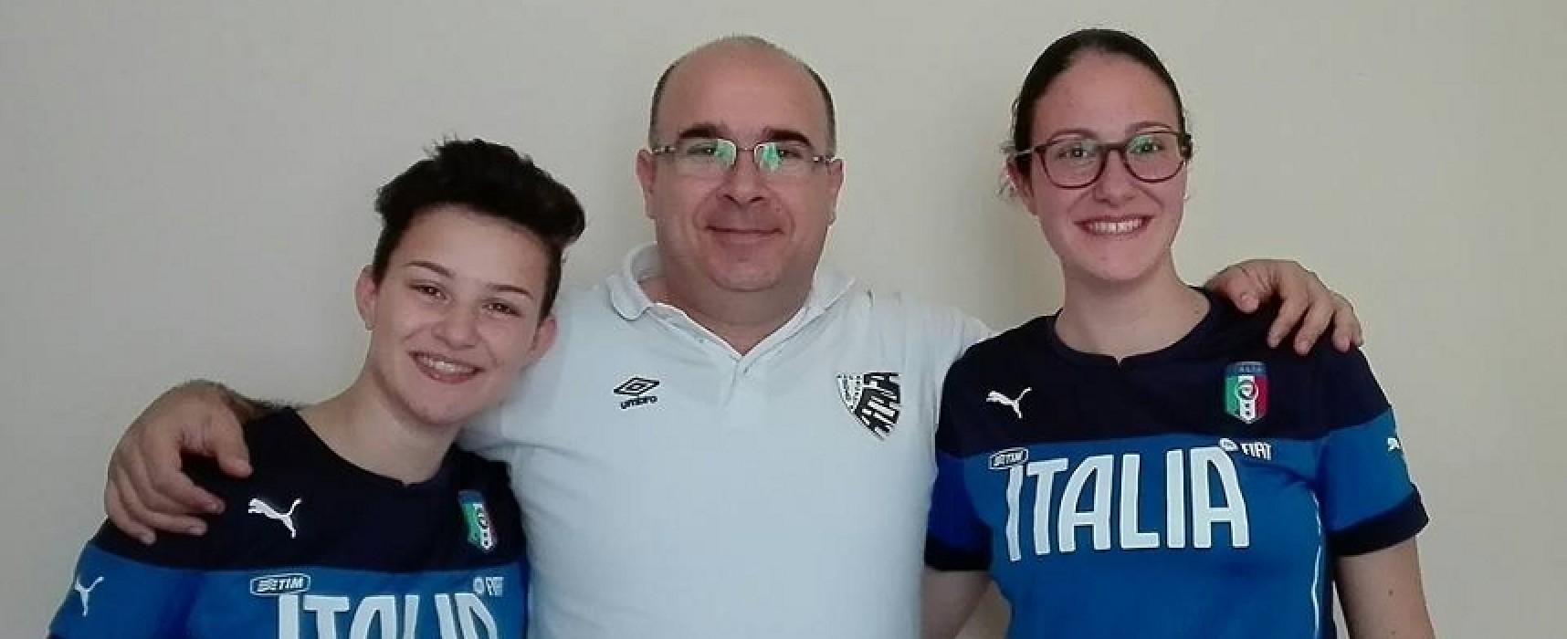 Due calcettiste dello Sparta Bisceglie convocate dalla Nazionale Under 17