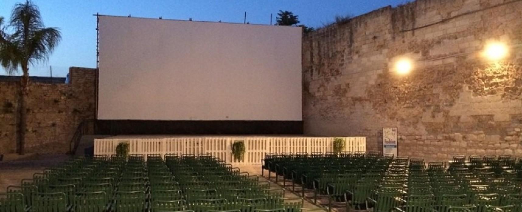 """""""Cinema sotto le stelle"""", la PROGRAMMAZIONE fino a lunedì 4 luglio"""