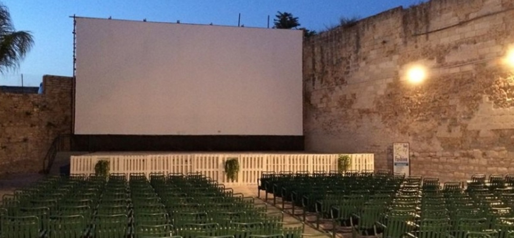 """""""Cinema sotto le stelle"""", un fine agosto spettacolare al Parco delle Beatitudini"""