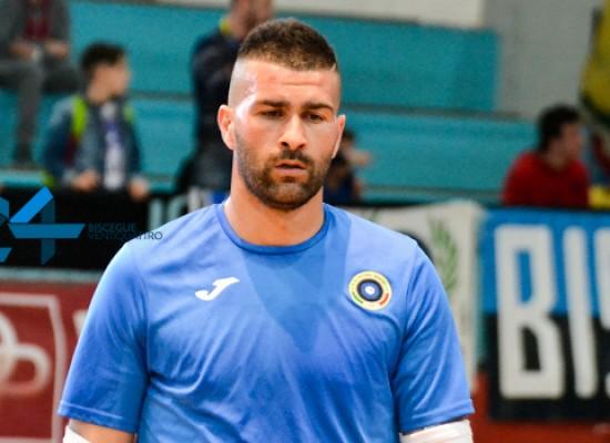 Il Futsal Bisceglie blinda la porta, Lopopolo in neroazzurro fino al 2018