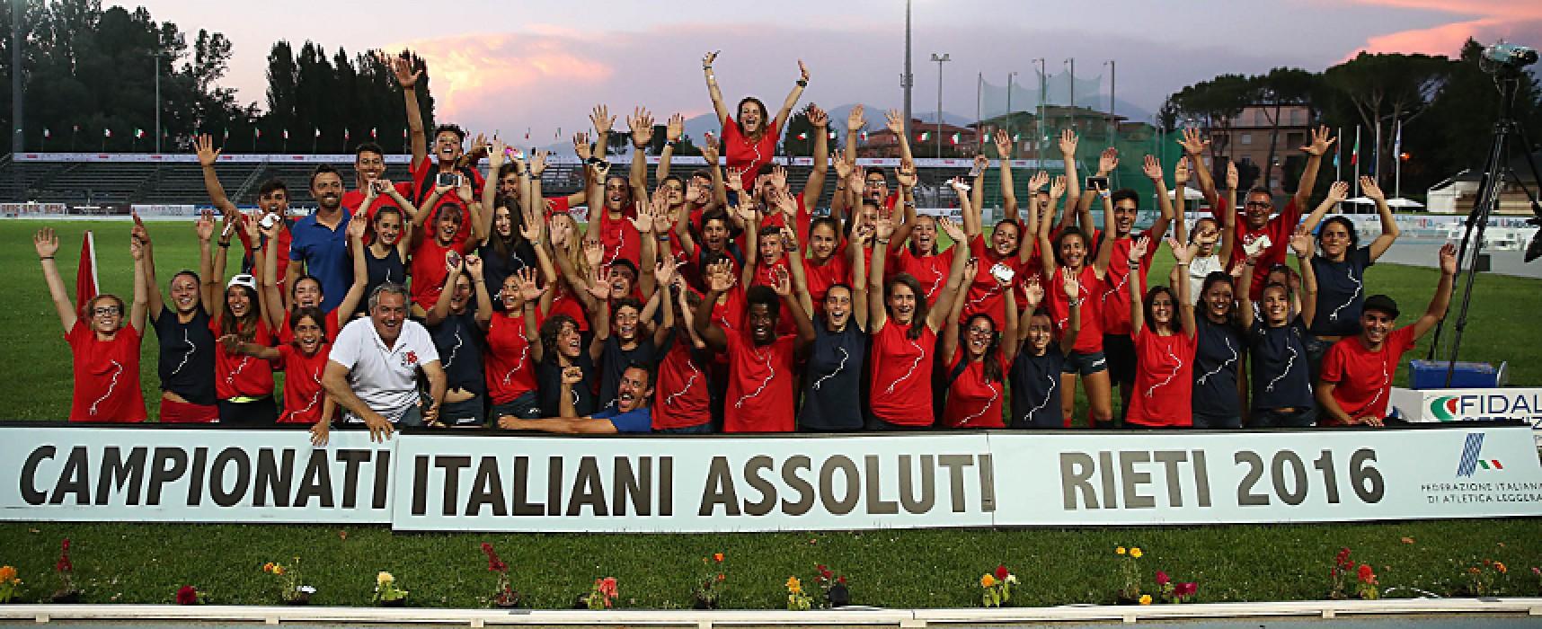 Campionati Italiani Assoluti di atletica leggera: Haliti 5° in finale, bene Ridger e Rosito