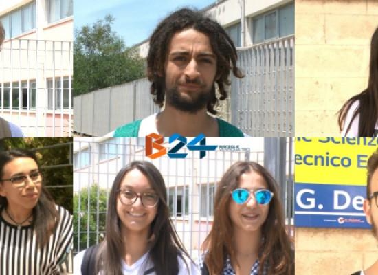 Maturità 2016, le scelte, le ansie e le soddisfazioni degli studenti biscegliesi / VIDEO