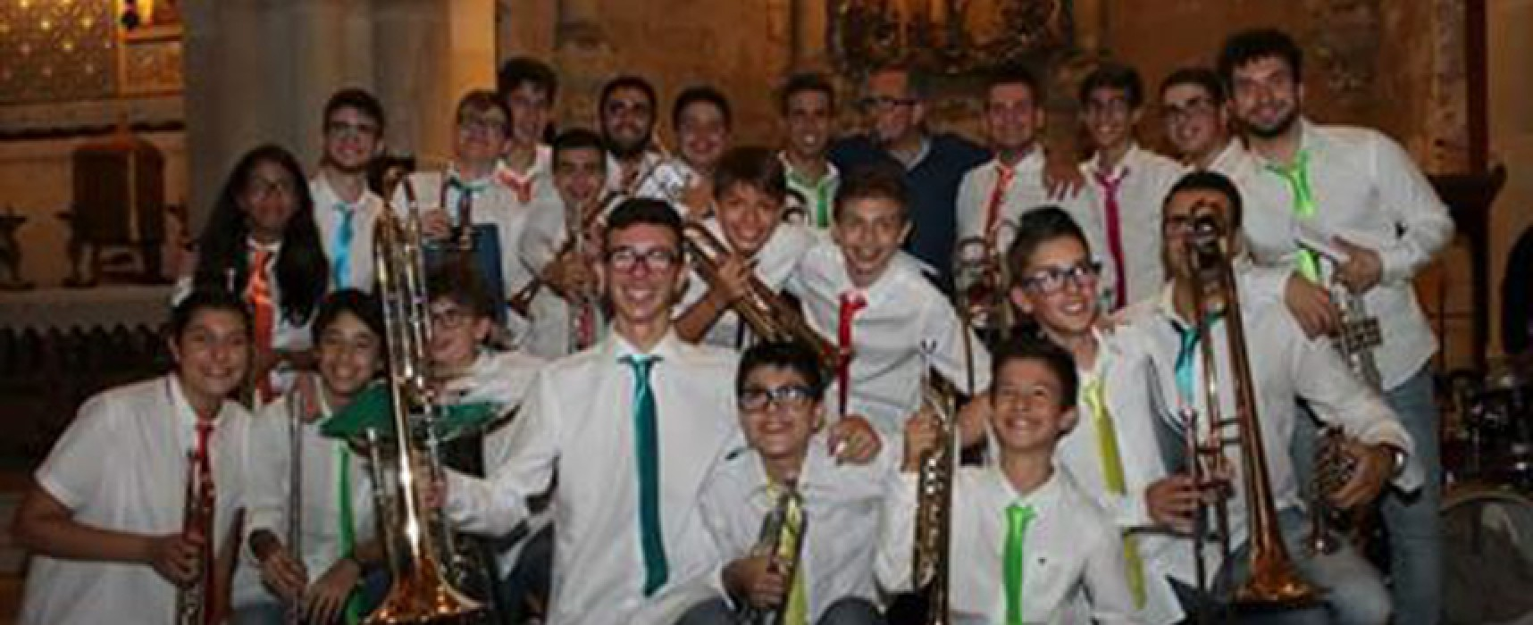 """La brass ensemble """"Il Cenacolo"""" in concerto alla Cattedrale in onore ai Santi Martiri e alla Madonna Addolorata"""