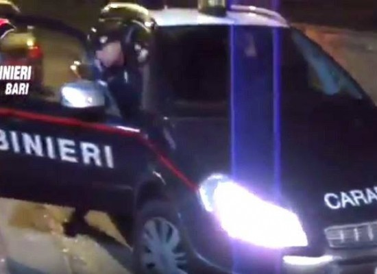 Banda biscegliese sgominata dai carabinieri: ecco i NOMI dei 10 arrestati