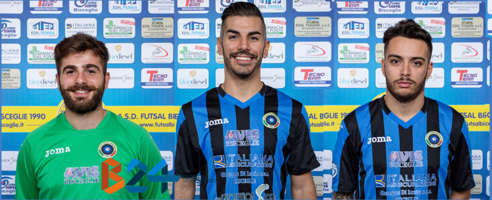 Futsal Bisceglie, in uscita Dibenedetto, Kevin e Colaianni