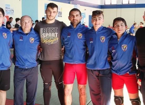 Ottimi risultati per le Fiamme Cremisi Bersaglieri Esercito al Campionato Pugliese di lotta