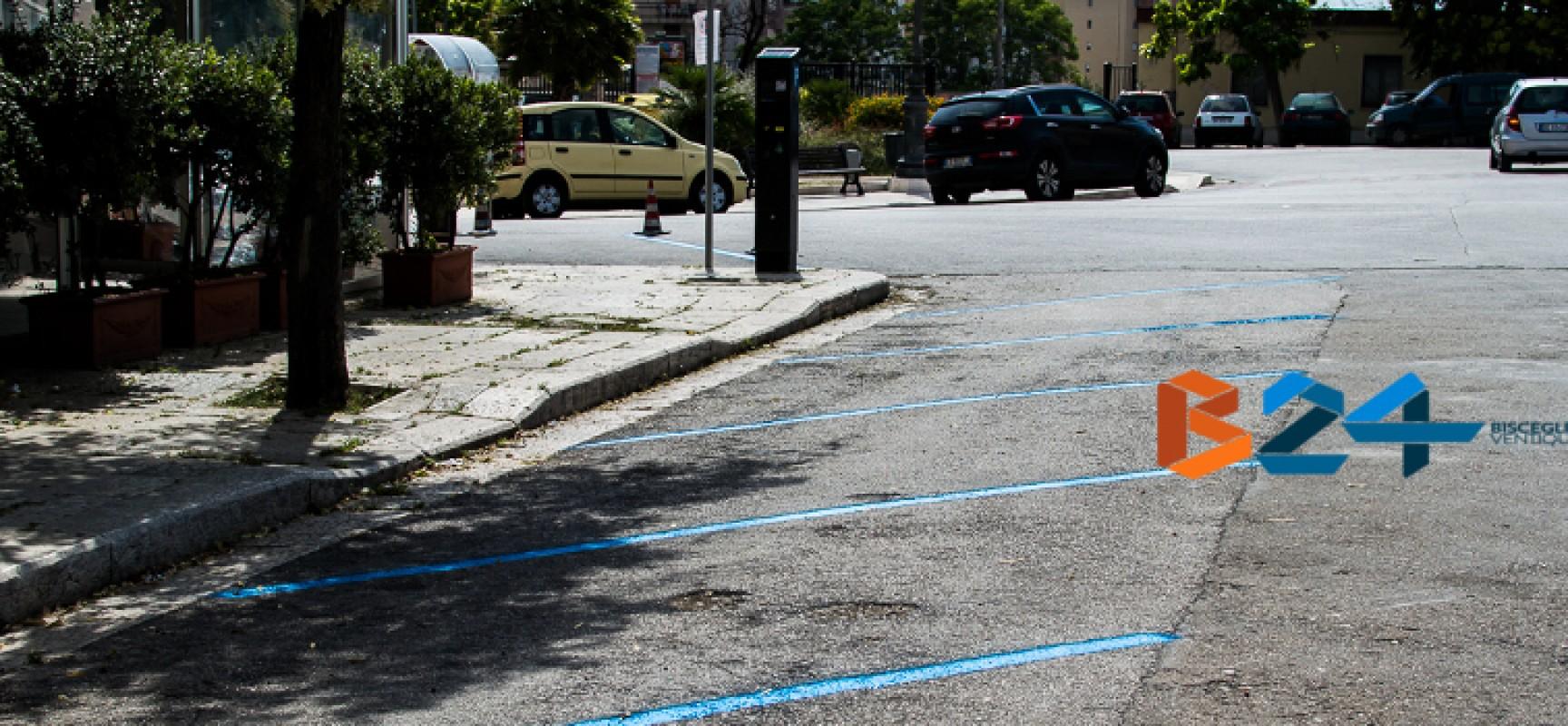 Strisce blu, da ieri in vigore il nuovo assetto per centro urbano e litoranea