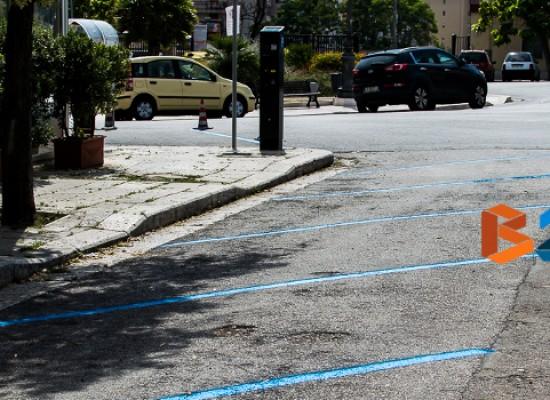 Limitazioni al traffico veicolare per rifacimento strisce blu dal 3 al 9 ottobre / DETTAGLI