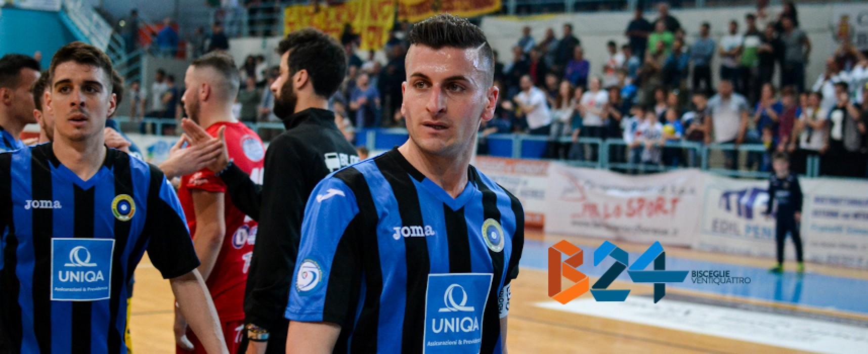 Capitan Pedone rinnova con il Futsal Bisceglie sino al 2019