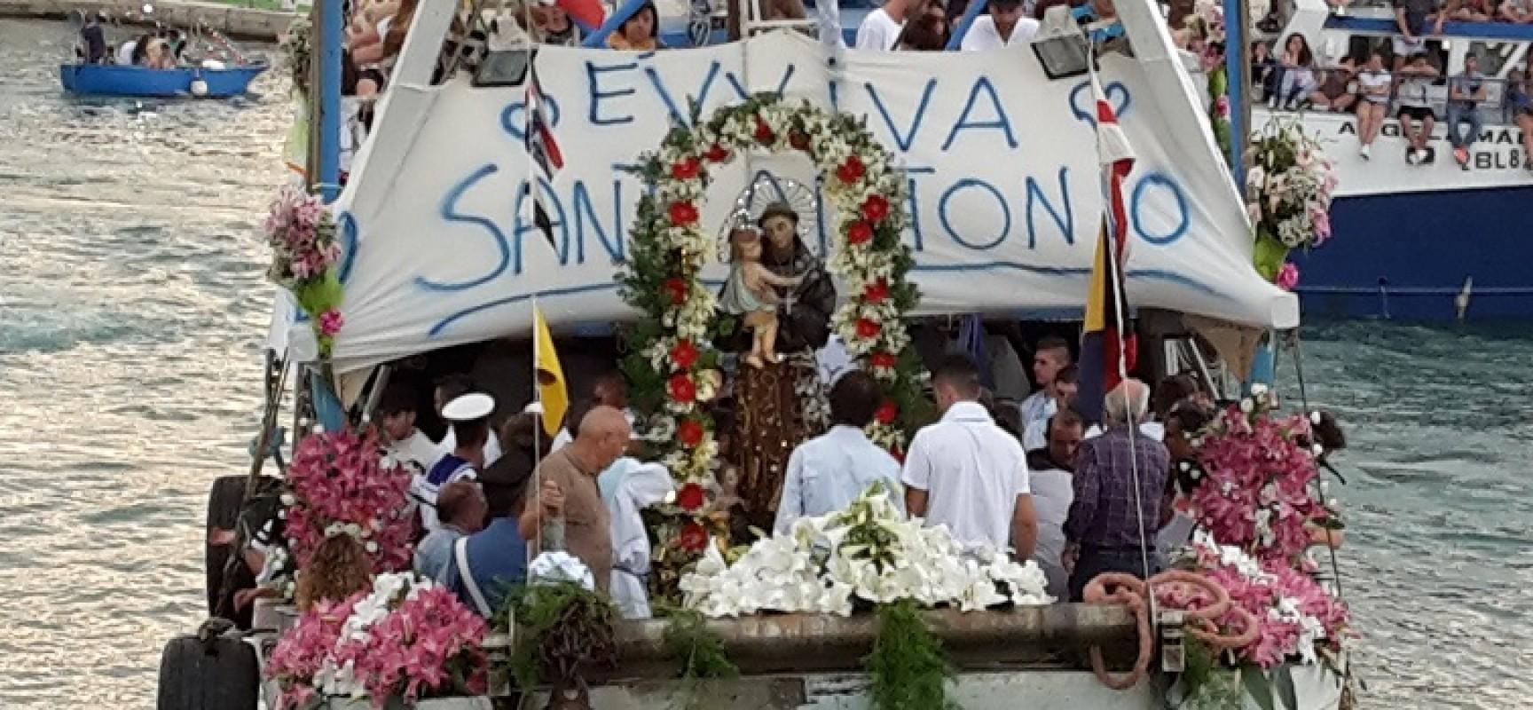 Solennità di Sant'Antonio, rimandata causa maltempo la processione