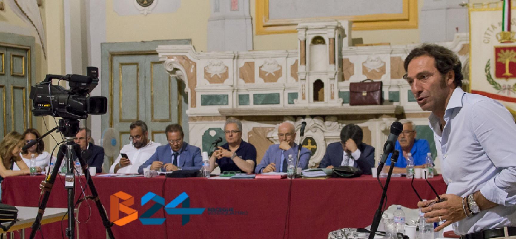 Consiglio comunale: animata discussione su Tari e strisce blu