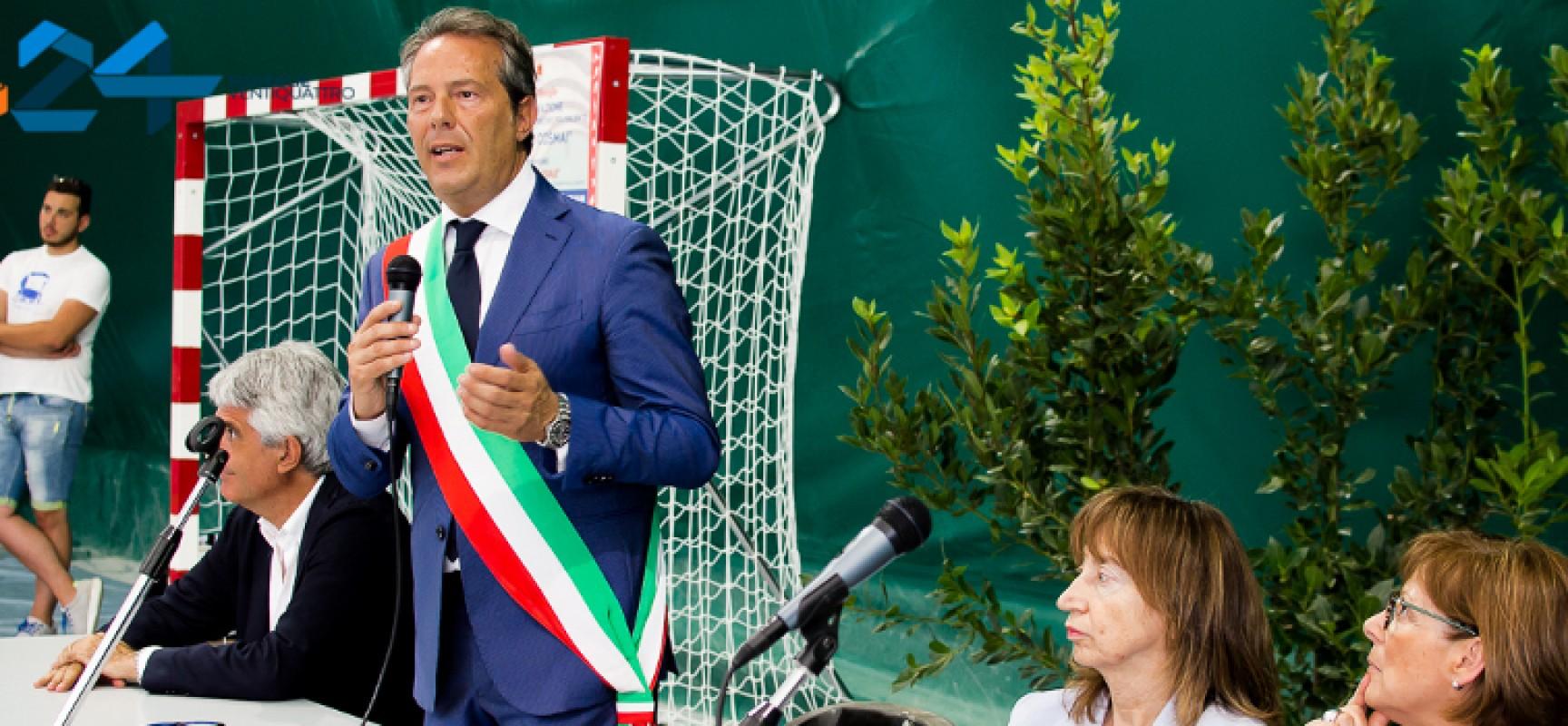 Inaugurato il Polivalente Sergio Cosmai, nuovo punto di riferimento per lo sport cittadino/FOTO