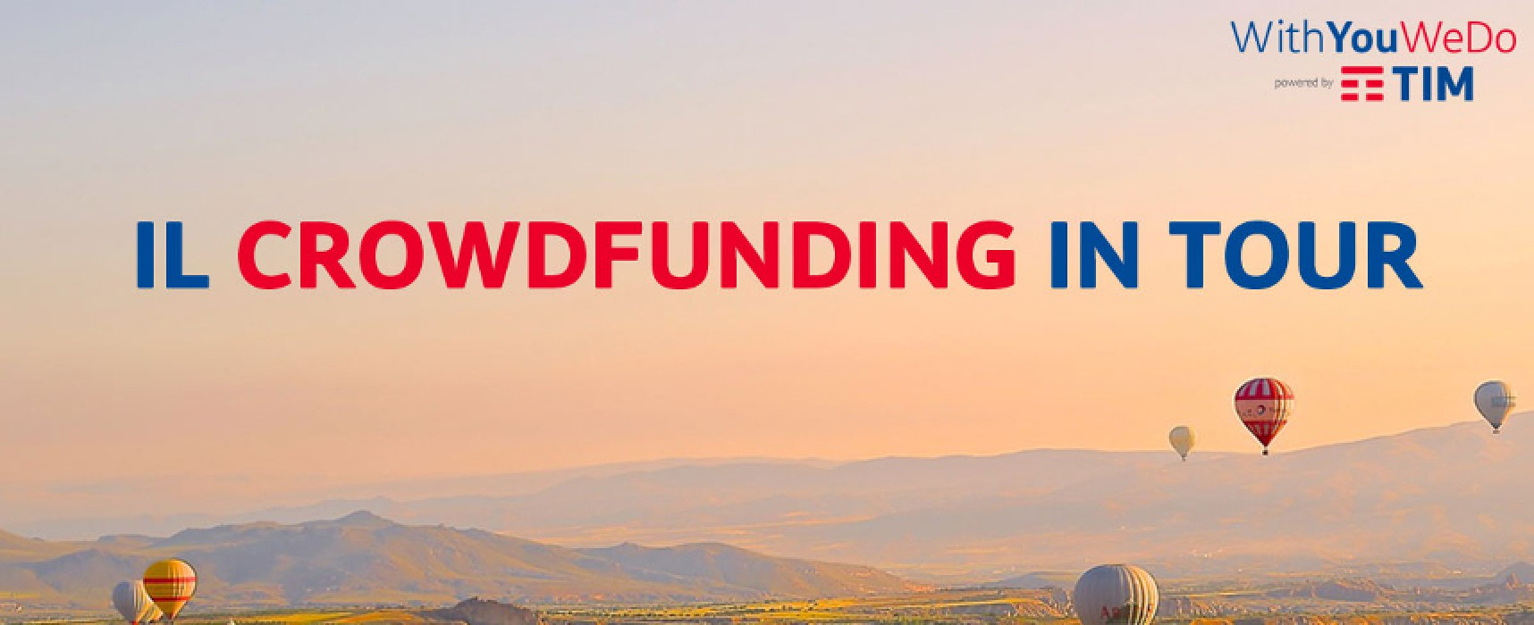 """With you we do"", Tim presenta le opportunità del crowdfunding a Bisceglie"