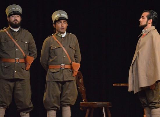 Addio, mio bella addio: i corsisti della Compagnia dei Teatranti portano in scena la Grande Guerra