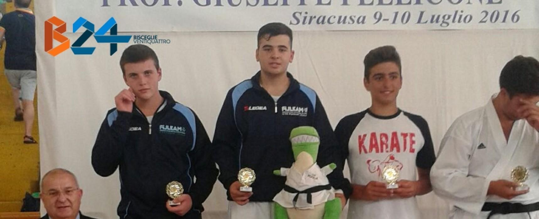 Karate: medaglia d'oro per Fabrizio Papagni all'Open di Siracusa