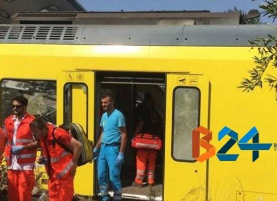 """Strage ferroviaria: tra i soccorritori anche l'Oer Bisceglie, """"Immagini difficili da dimenticare"""" / FOTO"""