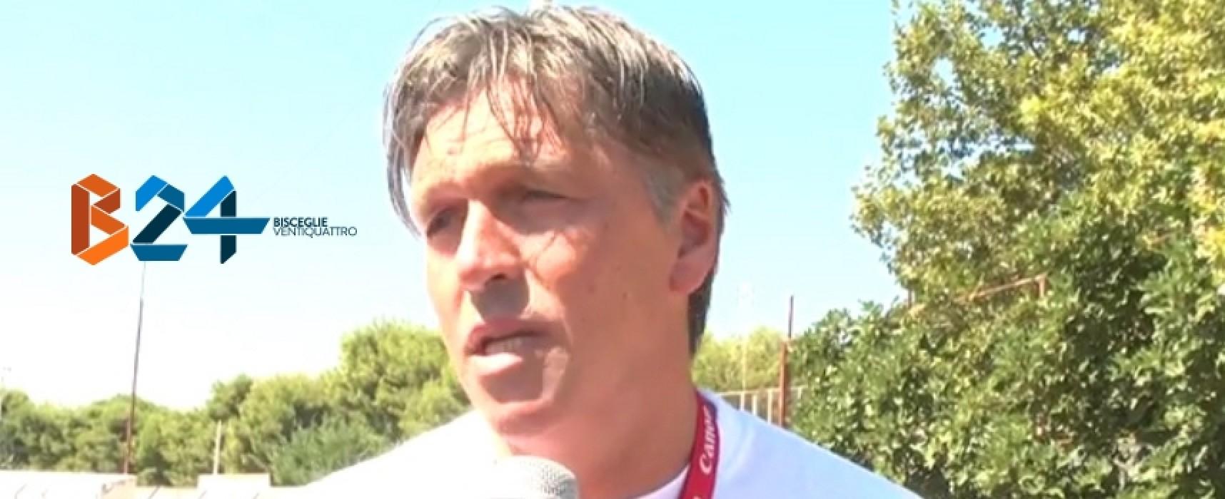 Ieri raduno e partenza in ritiro per il Bisceglie calcio / INTERVISTA  VIDEO a mister Ragno