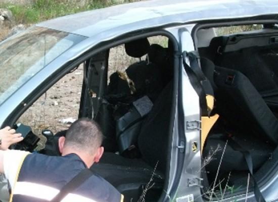 Ritrovate due scocche di auto rubate in una cava abbandonata dell'agro biscegliese
