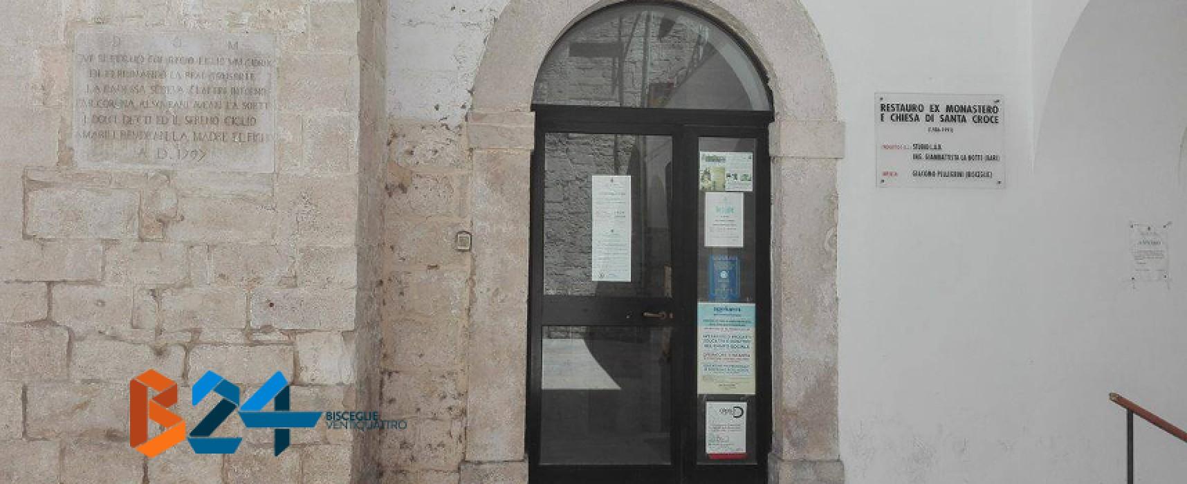 """Chiusura pomeridiana biblioteca comunale """"Pompeo Sarnelli"""" – DETTAGLI"""
