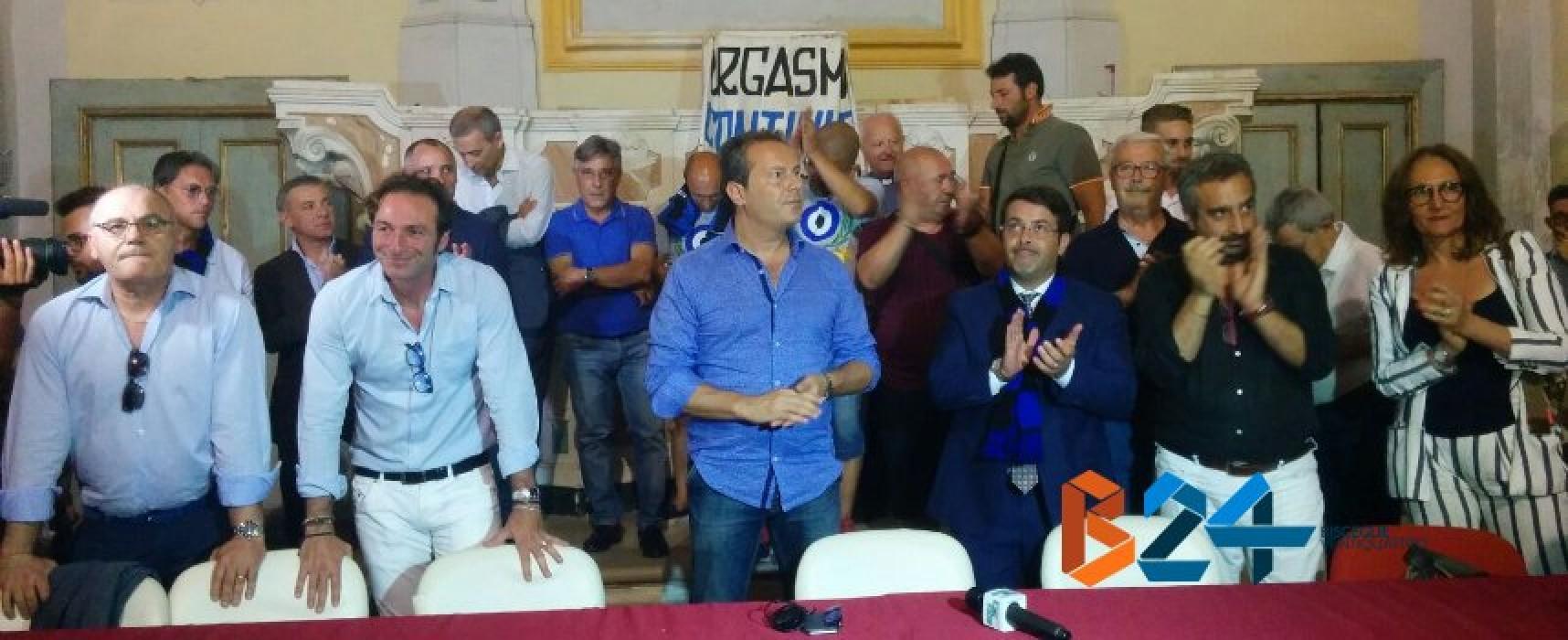 """Il Bisceglie calcio torna nella mani di Canonico: """"Sarà un anno di spettacolo"""""""