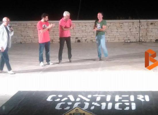 """""""Cantieri Comici"""", tanto divertimento per il pubblico del Teatro Mediterraneo"""
