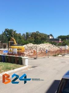 demolizione 167 via palvisino carrara lama di macina 1