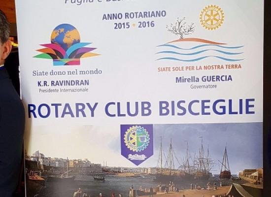 """Rotary Club, questa sera la cerimonia di """"Passaggio del Martelletto"""""""