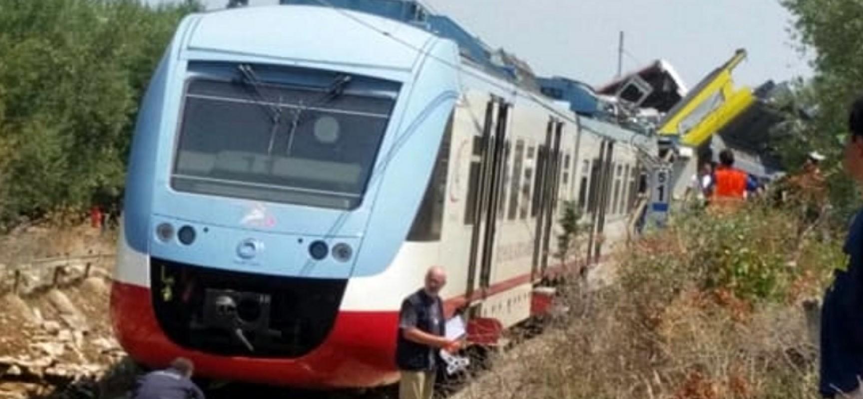 Tragedia ferroviaria: le disposizioni del sindaco Spina in occasione del lutto cittadino di domani