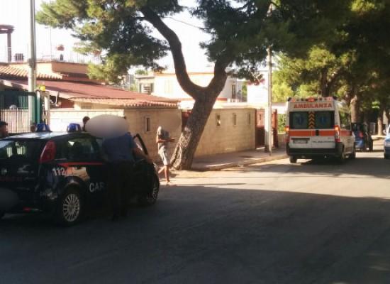 Donna 54enne biscegliese investita in via della Libertà trasportata al Bonomo di Andria