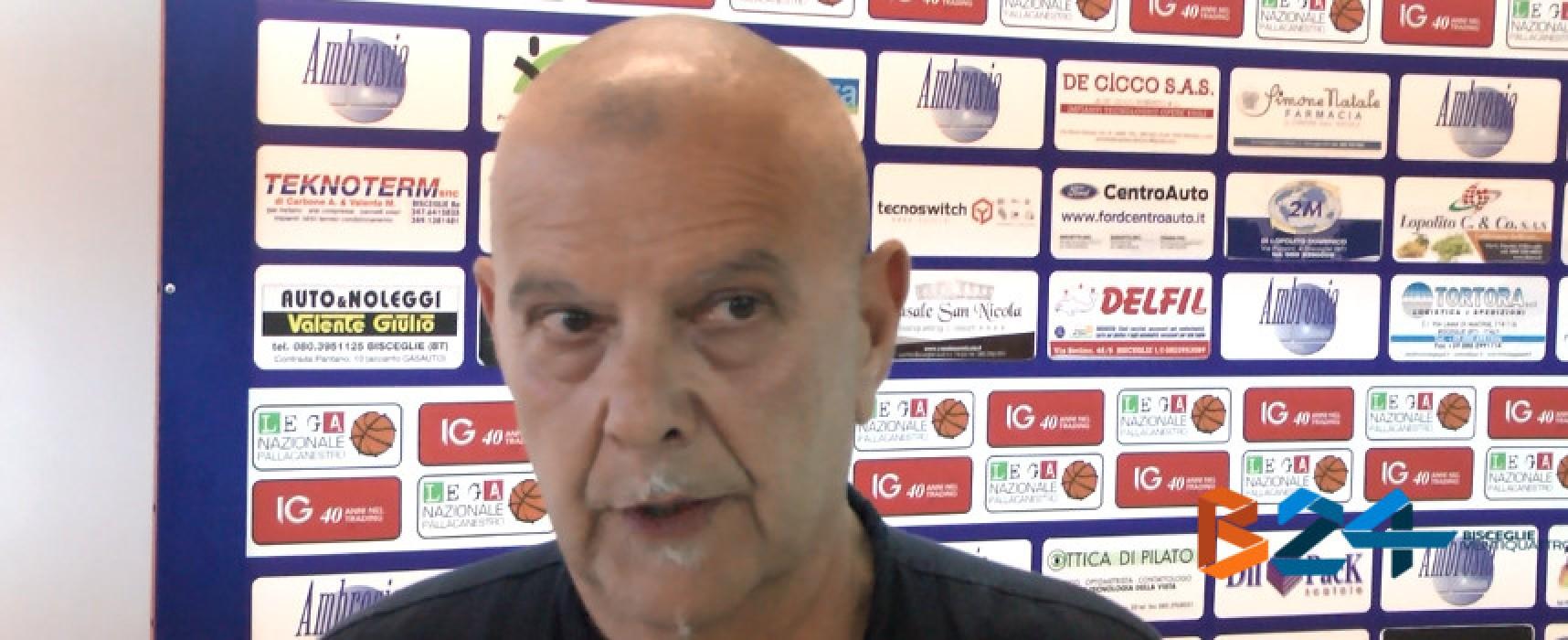 Lions Basket, si riparte con la conferma di coach Sorgentone