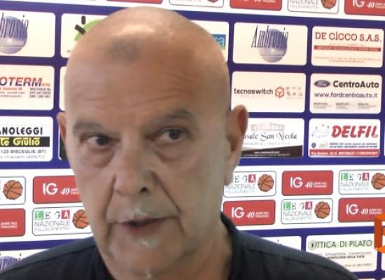 Lions Basket, le prime parole in nerazzurro di coach Sorgentone /VIDEO