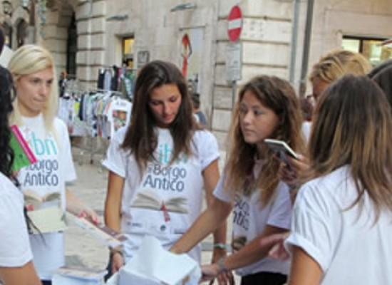 Libri nel Borgo Antico 2016, è possibile candidarsi volontari fino a venerdì 29 luglio